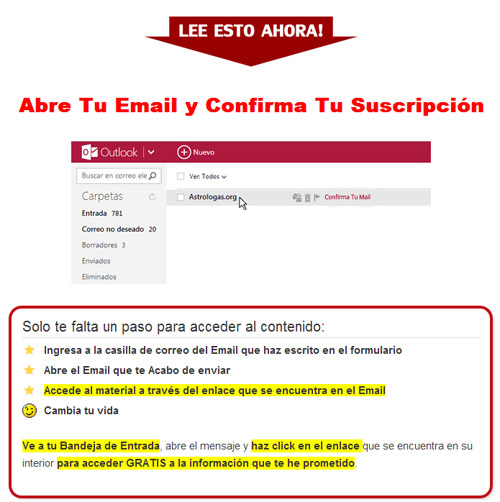 magia blanca confirmar mail