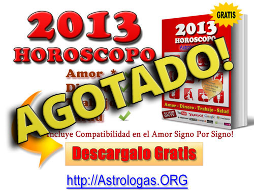 horoscopo 2013 agotado