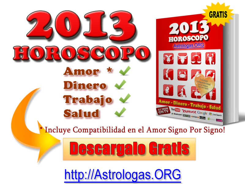 horoscopo anual 2013